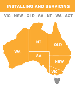 Installing and Servicing VIC - NSW - QLD - SA - NT - WA - ACT